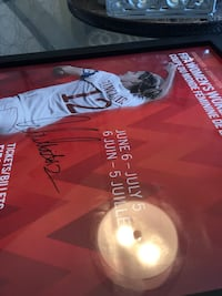 Christine Sinclair signed poster Team Canada World Cup Olympics Autographed.  Courtice, L1E 2S2