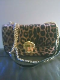 black and brown leopard print handbag Edmonton, T5N 3H5