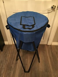 Portable insulated tub cooler