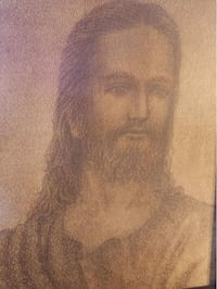 image of Jesus done entirely in scripture Modesto, 95354
