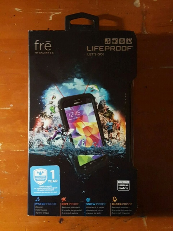 detailed look 623ac 97041 Brandy New! Lifeproof Fre iPhone case box for S5