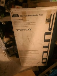 Putco 97105  stainless steel fender trim for a full size Chev pick up