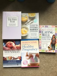 pregnancy and baby/parenting books Washington, 20007