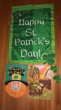 """St. Patrick large flag 28@ x 40"""" small flags $5.00 each Mooresville, 28117"""