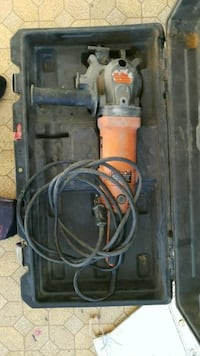 orange and black corded angle grinder with case Calgary, T2A 6L1