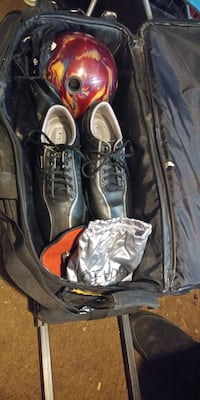 Bowling ball and shoes, bag and exc. Gresham, 97080