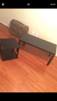 Black coffee table and side stand Woodbridge, 22191