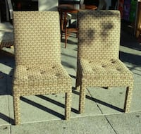 #20443 Pair of Paisley Parsons Chairs Oakland, 94610