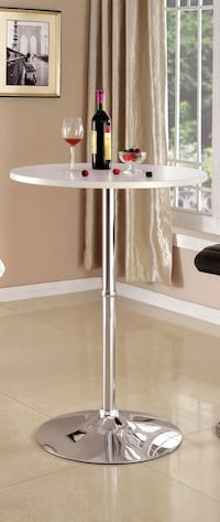 """Brand New 41"""" High Bar Tables with 23.5"""" Round White MDF Table Tops  Brea, 92821"""