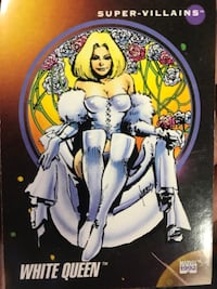 Comic Book Trading Cards X-Men trading cards 200+ cards in the collection Bethesda, 20817