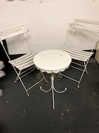 Patio Set Table & 2 Chairs