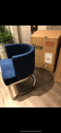 black and blue fabric sofa chair 20 mi
