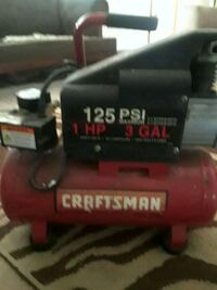 red and black Craftsman standard air compressor Stone Mountain, 30088