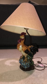 Rooster  table lamp  Chantilly, 20152