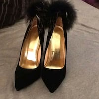 Pumps with Fur