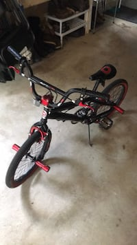Black and red bmx style bike Ashburn, 20147