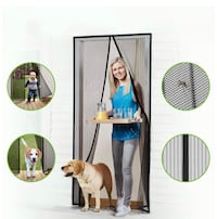 New!! Magnetic screen door