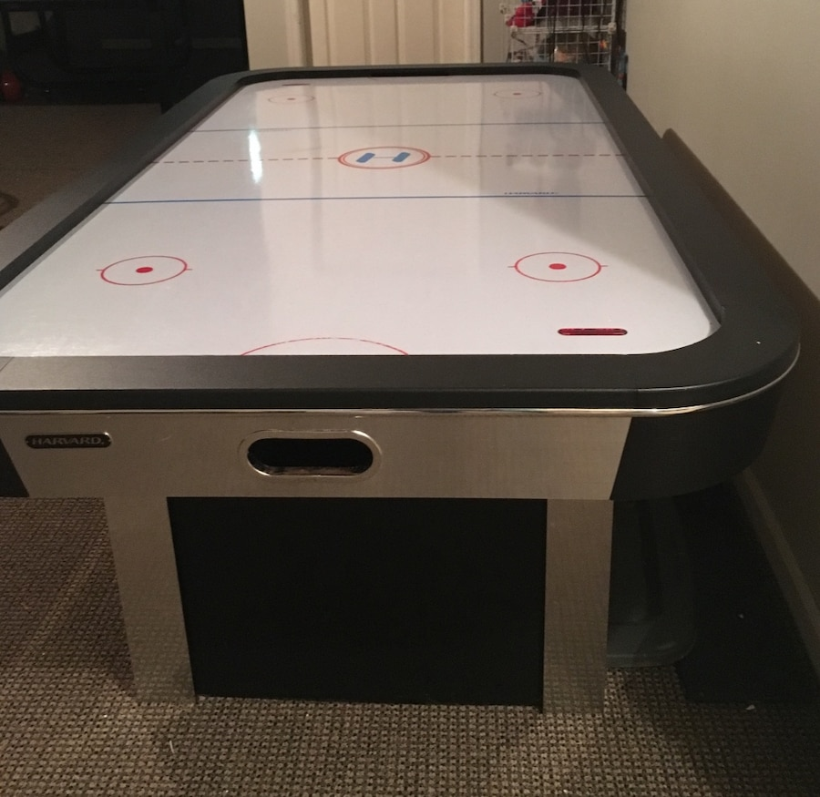 used harvard 7ft air hockey table fully functioning with rh us letgo com