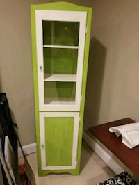 white and green wooden cabinet Bristow, 20136