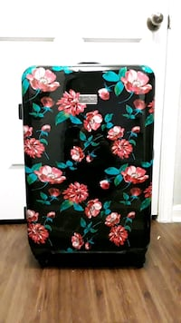 Jessica black, green, and pink floral backpack Austin, 78728