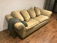 brown fabric 2-seat sofa Newmarket, L3Y 9E3