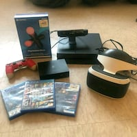 PS4 + VR headset 2generation + play station Move + Camera and more Toronto, M4Y 2B6