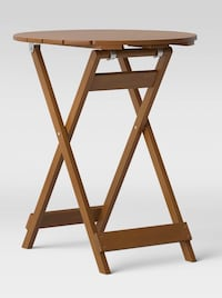 *BRAND NEW* wooden folding patio table