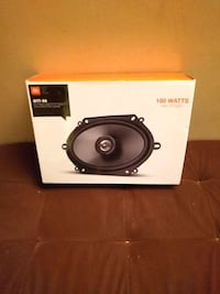 black and gray subwoofer speaker Toronto, M3C 3A4
