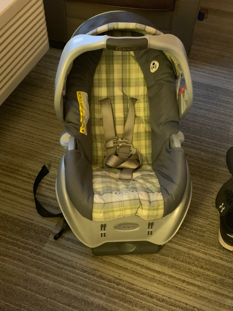 Photo Graco infant carrier