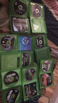 assorted Xbox One game discs Fairfax, 22030