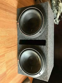 """Two Rockford Fosgate 10"""" Punch P2s with box  Albuquerque, 87110"""