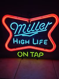 red and white Bud Light neon signage 1469 mi