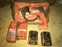 Milwaukee M18 cordless drywall gun