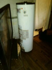 white and gray water heater Detroit, 48205