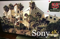 55' Sony 4K model XBR-55X900E Los Angeles, 91304
