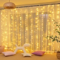 Window Curtain String Light for home party wedding decor Montgomery Village, 20886