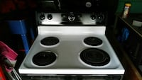 white and black electric coil range oven Jacksonville, 28540