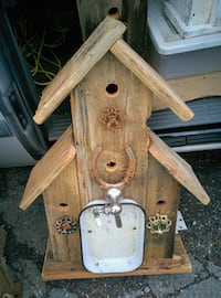 Hand crafted Barn Wood Bird Houses