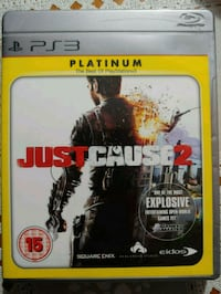Just Cause 2 PS3 excellent condition 3726 km