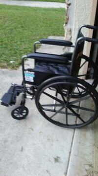 Wheel chair with foot rests Deltona, 32725