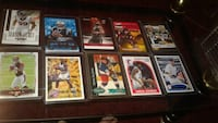 assorted baseball player trading cards 277 mi
