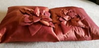 red and brown floral textile Red Deer, T4R 2J4
