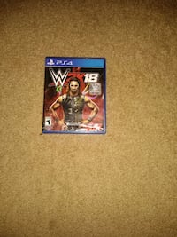 WWE 2k18 PS4 game