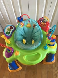 baby's green and blue exersaucer Quinte West, K8V 5P4