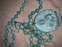 Old jade necklace chain