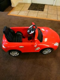 red and black ride on toy car Richmond