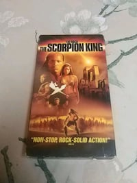 The Scorpion King VHS Barrie
