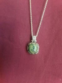 silver-colored pendant necklace Chesnee, 29323