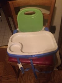 Baby's white and green high chair Kensington, 20895