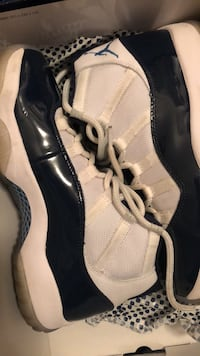 pair of white-and-black basketball shoes Nashville, 37076